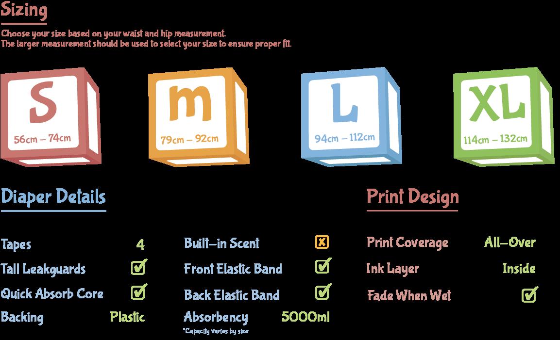 ABU Space Diaper Features