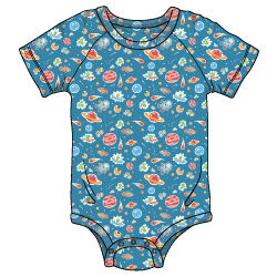 ABU Patterned DiaperSuit